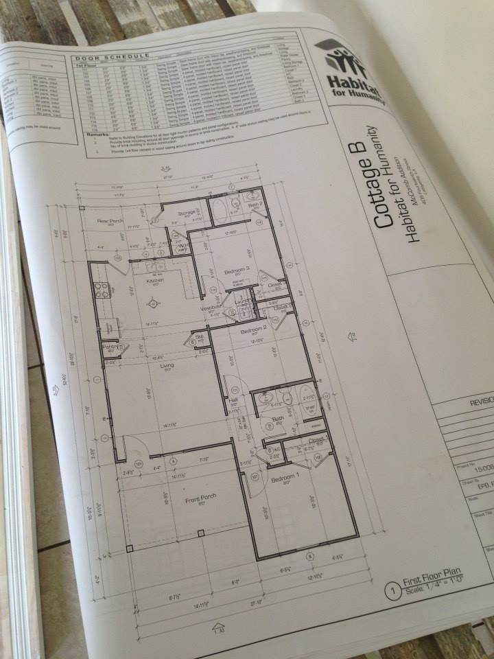 Habtiat Cottage Blueprint